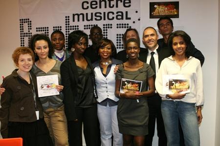 Dans le jury des Ya bon Awards, avec Lilian Thuram, Pascal Blanchard, Rokhaya Diallo, Audrey Pulvar, Aïssa Maïga, Carole Da Silva, Aline Afanoukoé, Blanche...