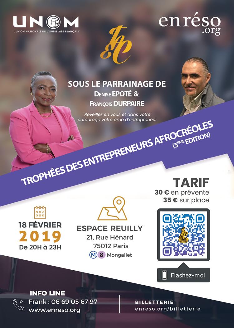 Les Trophées des Entrepreneurs AfroCréoles (5ème Edition)